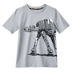 Boys 4-7x Star Wars a Collection for Kohl's At-At Walker Metallic Patchwork Tee