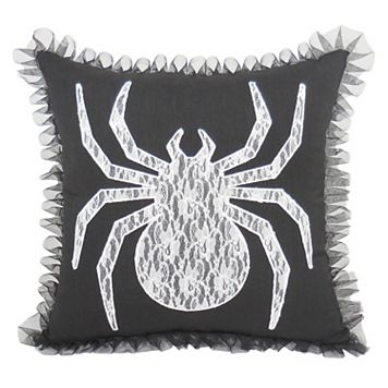 Essentials Lace Spider Throw Pillow