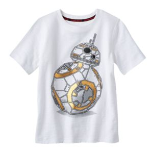 Boys 4-7x Star Wars a Collection for Kohl's Slubbed BB-8 Studded Tee
