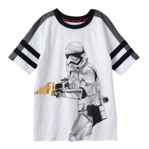 Boys 4-7x Star Wars a Collection for Kohl's Stormtrooper Foiled Athletic Tee
