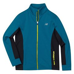 Boys 4-7 New Balance Relaxed-Fit Performance Fleece Track Jacket  by