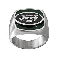 Men's Stainless Steel New York Jets Ring
