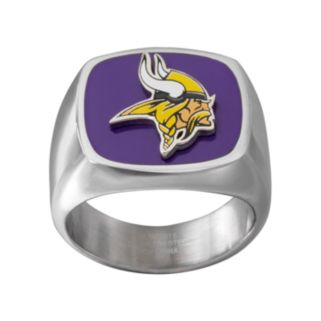 Men's Stainless Steel Minnesota Vikings Ring