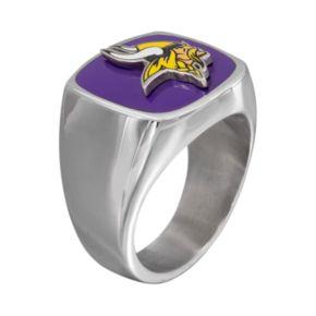 Men's Stainless Steel Minnesota Vikings Ring