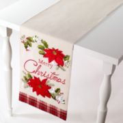 "Avanti ""Merry Christmas"" Table Runner - 72"""