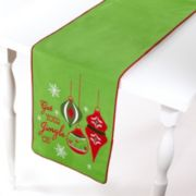 "Avanti ""Get Your Jingle On"" Table Runner - 72"""