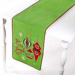 Avanti 'Get Your Jingle On' Table Runner - 72'