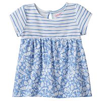 Toddler Girl Jumping Beans® High-Low Mixed Pattern Swing Tunic