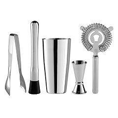OGGI 5 pc Stainless Steel Bar Tool Set