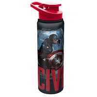 Marvel Captain America & Iron Man Choose a Side 28-oz. Aluminum Water Bottle by Zak Designs