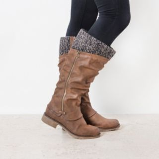 MUK LUKS Bianca Women's Water-Resistant Knit-Cuff Boots