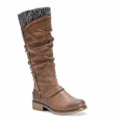 MUK LUKS Bianca Women's Water-Resistant Knit-Cuff Boots