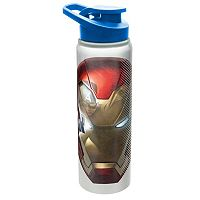 Marvel Captain America Shield Mask 28-oz. Aluminum Water Bottle by Zak Designs