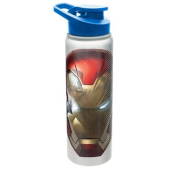 Marvel Captain America Shield Mask 28-oz. Aluminum Water Bottle by Zak Designs