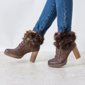 MUK LUKS Marilyn Women's Water-Resistant Ankle Boots