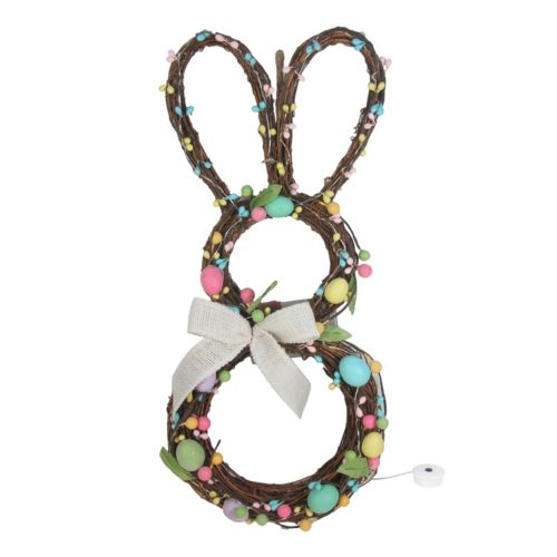Celebrate Easter Together LED Bunny Wall Decor