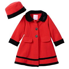 Girls Red Peacoat Outerwear Clothing | Kohl&39s