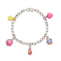 Girls Shopkins D'Lish Donut, Lippy Lips & Cupcake Chic Charm Bracelet