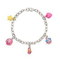 Girls Shopkins D'Lish Donut, Lippy Lips & Cupcake Chic Charm Bracelet