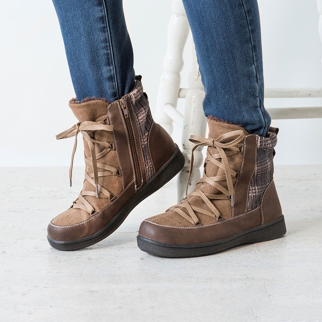 MUK LUKS Shayla Women's Water-Resistant Ankle Boots