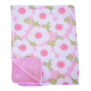 Nurture Garden District Plush Blanket and Changing Pad Cover Nursery Set