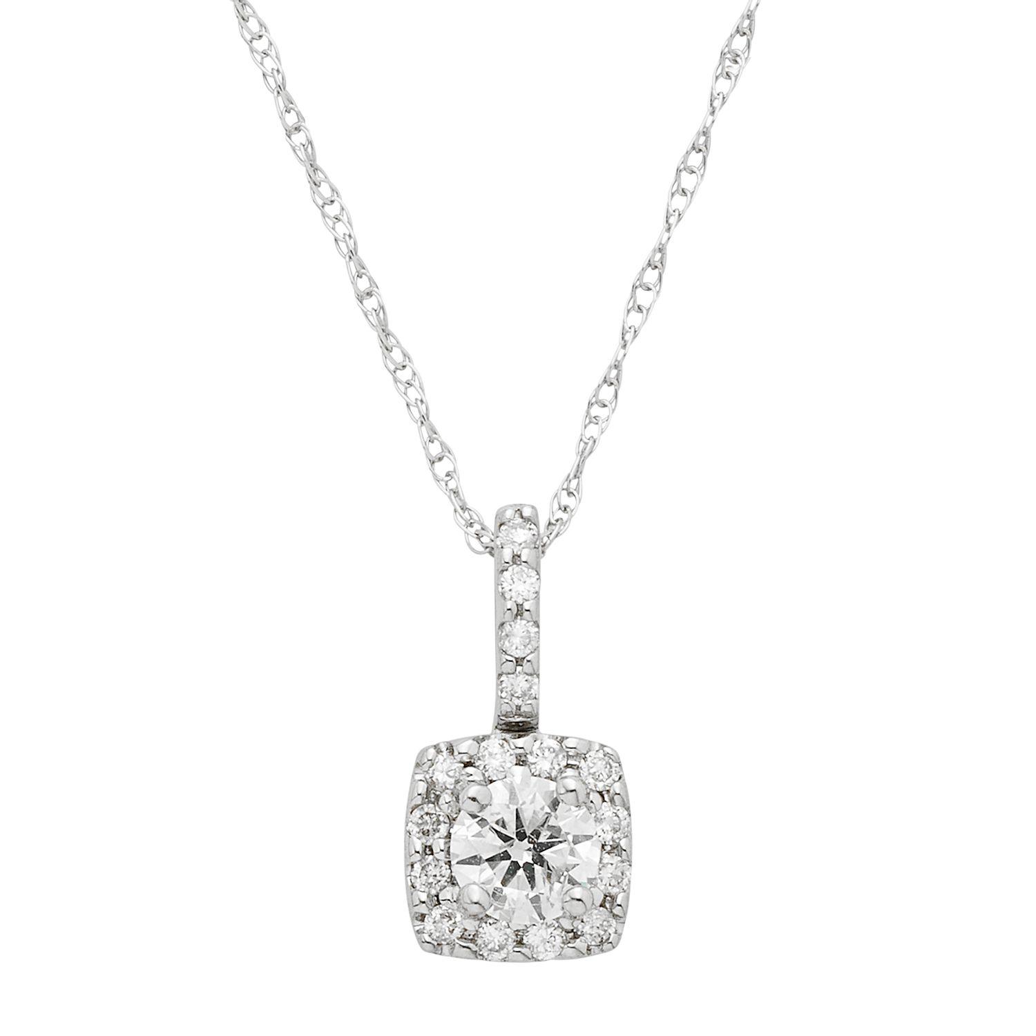 576d29e7eea Diamond Necklaces