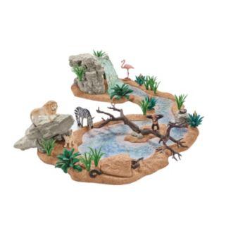 Schleich Wild Life 44-pc. Big Adventure At The Waterhole Safari Set