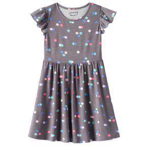 Girls 4-10 Jumping Beans® Print Tee Dress