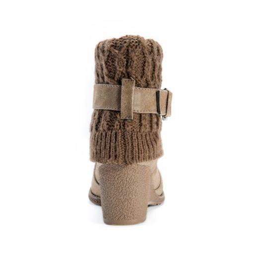 MUK LUKS Deena Women's Water-Resistant Wedge Boots