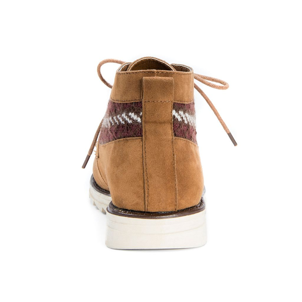 MUK LUKS Victoria Women's Water-Resistant Moccasin Boots