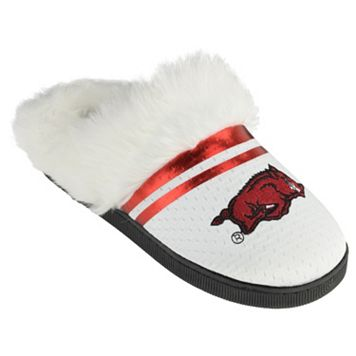 Women's Arkansas Razorbacks Plush Slippers