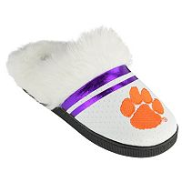 Women's Clemson Tigers Plush Slippers