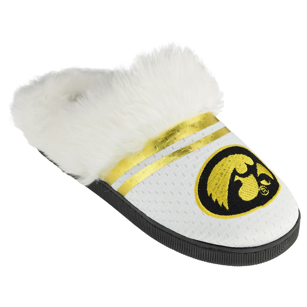 Women's Iowa Hawkeyes Plush Slippers