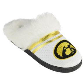 Women's Iowa Hawkeyes Plush Slippers