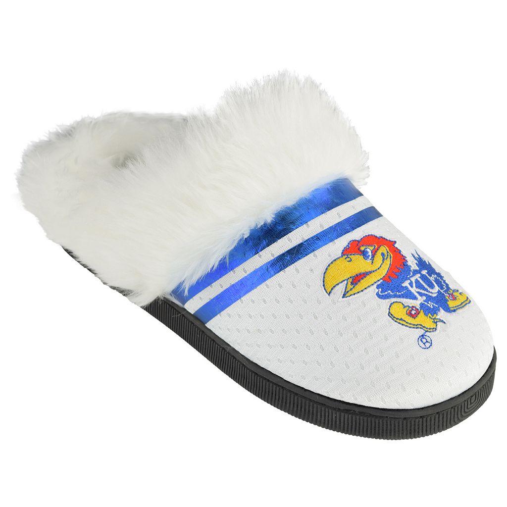 Women's Kansas Jayhawks Plush Slippers