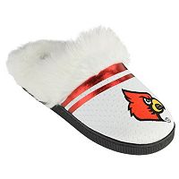 Women's Louisville Cardinals Plush Slippers
