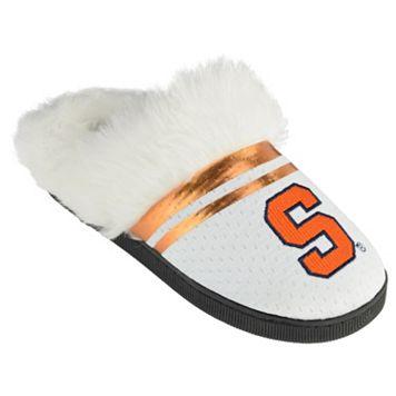 Women's Syracuse Orange Plush Slippers