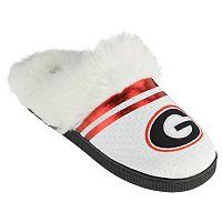 Women's Georgia Bulldogs Plush Slippers