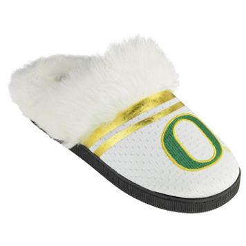 Women's Oregon Ducks Plush Slippers
