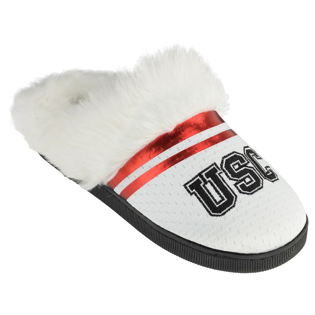 Women's USC Trojans Plush Slippers
