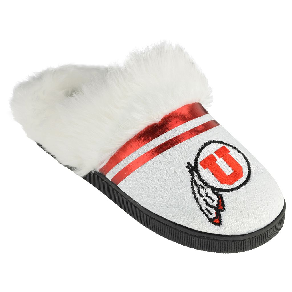Women's Utah Utes Plush Slippers