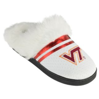 Women's Virginia Tech Hokies Plush Slippers