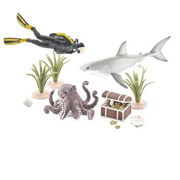 Schleich Treasure Hunt Diver Set
