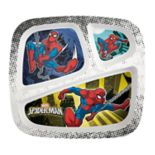 Marvel Spider-Man Kid's Divided Plate by Zak Designs