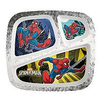 Marvel Spider-Man Kid's Divided Plate by Zak Designs