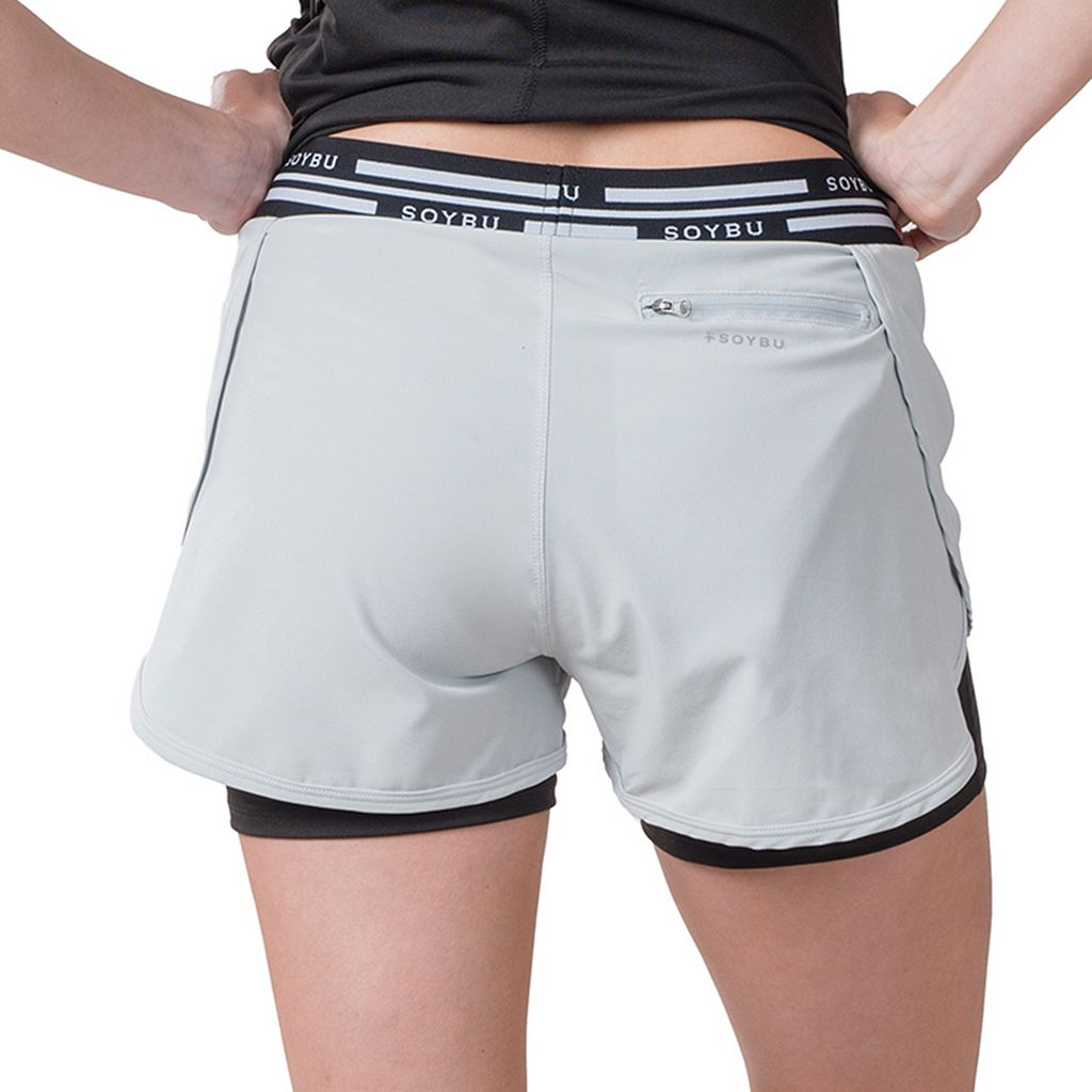Plus Size Soybu Fixie 2-in-1 Shorts