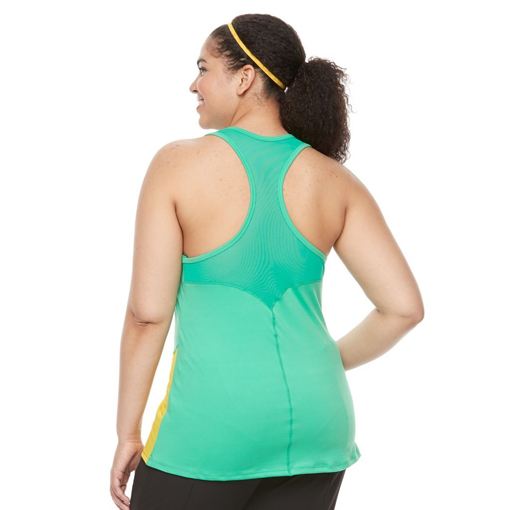 Plus Size Soybu Cool It Racerback Yoga Tank