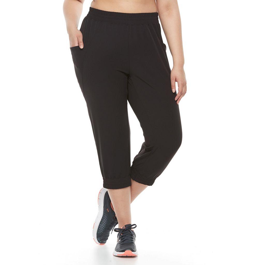 Plus Size Soybu Skim Yoga Capris