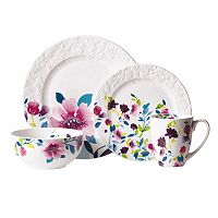 Kim Parker Meadow Violets 16-pc. Dinnerware Set