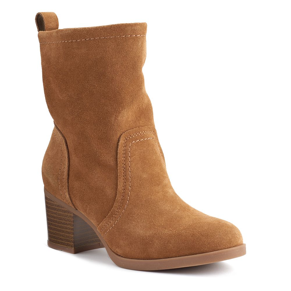 Goods for Life™ Women&39s Slouchy Suede Ankle Boots
